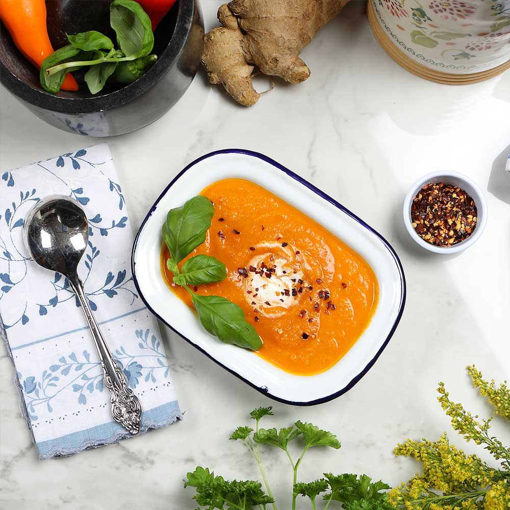 Sweet Potato & Chilli Soup
