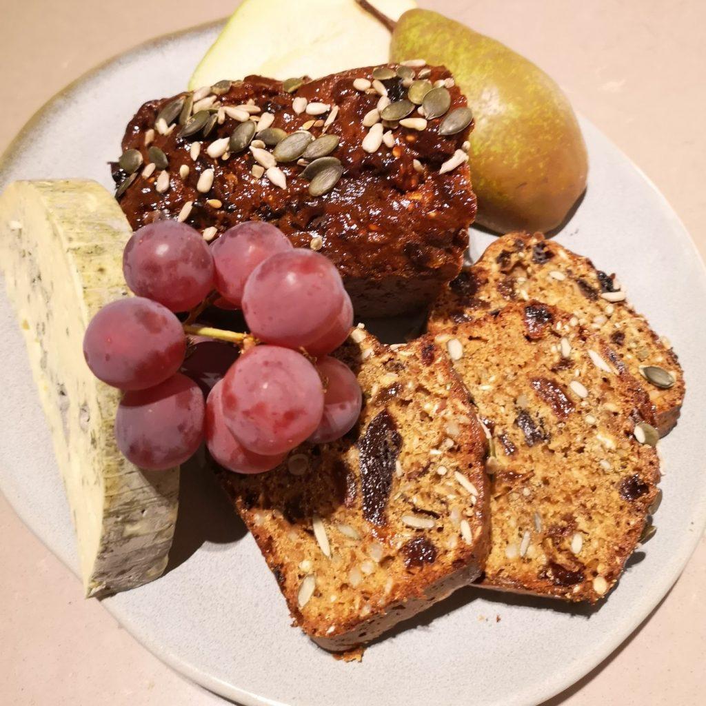 Sticky seeded Fruit Bread