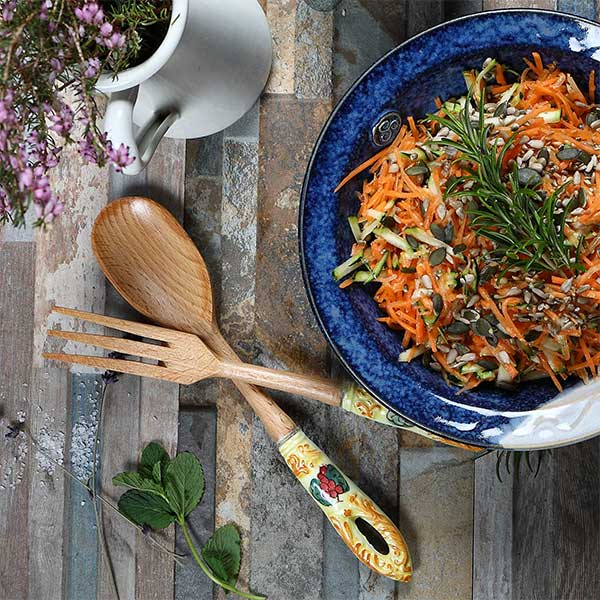 Carrot & Courgette Salad